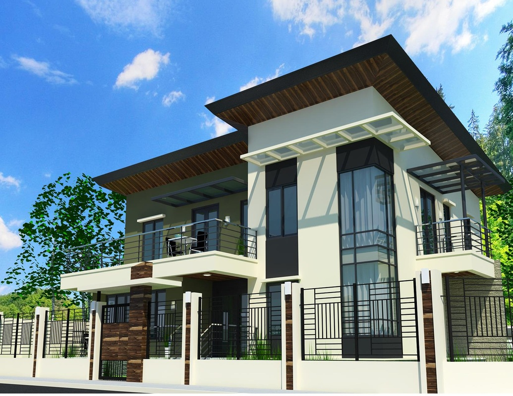 Dream house design l b lapuz architects builders for Pictures of two story houses in the philippines